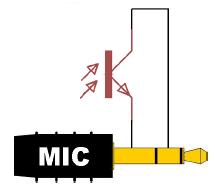 Схема подключения фототранзистора