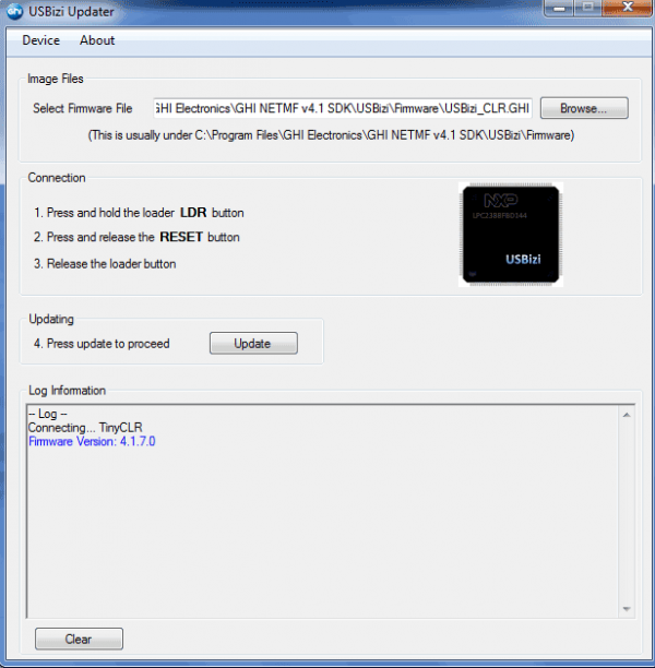 USBizi Updater