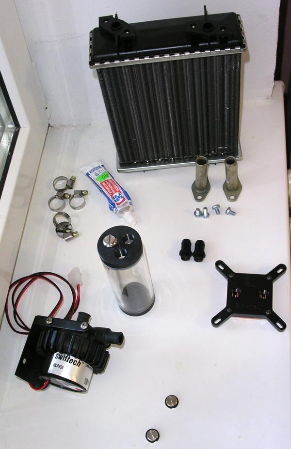 Система водяного охлаждения своими руками фото