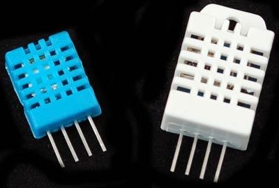 Датчики температуры и влажности DHT11 и DHT22