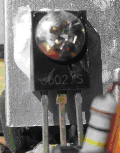 2. Сгорел транзистор c5027s