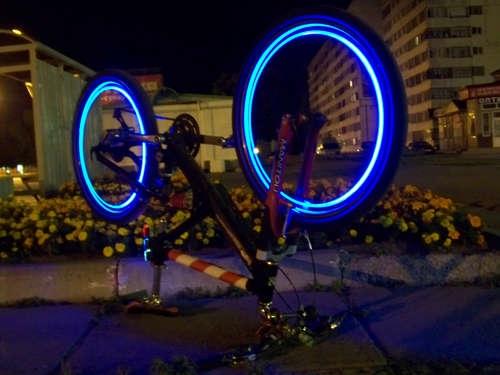 Как сделать подсветку колес своими руками