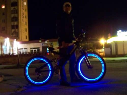 Подсветка колес