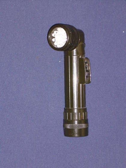 Старый фонарь переделан в новый светодиодный фонарик!