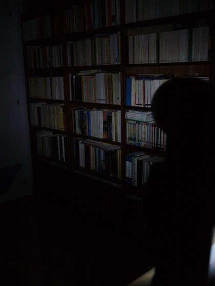 Светодиодный фонарь в действии