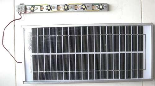 Лампа на солнечной батарее