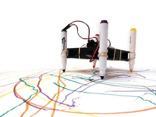 Простейший робот-художник