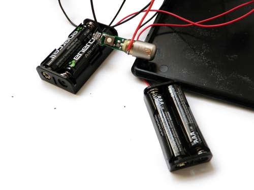 Батареи вставленны в отсеки