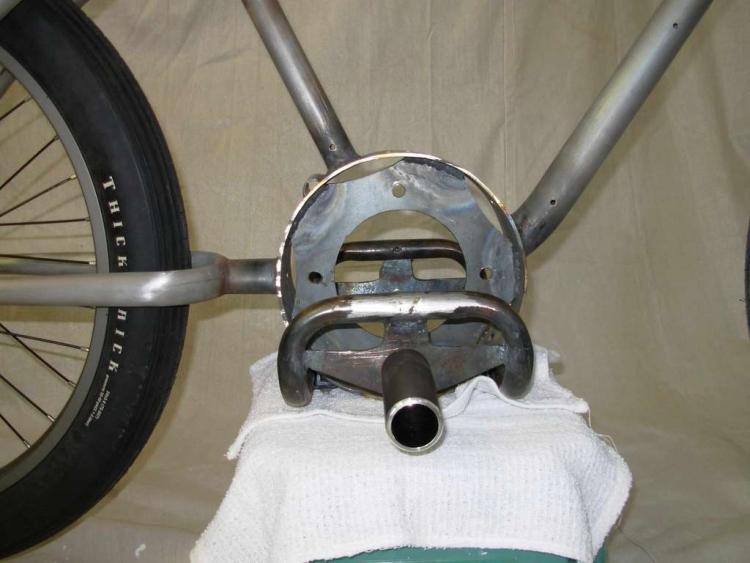 Крепление двигателя в кольце