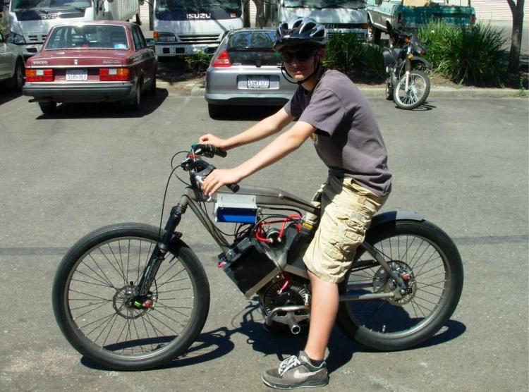 Скоростной велосипед как сделать своими руками