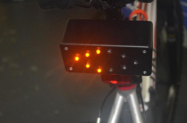 Самодельный поворотник для велосипеда