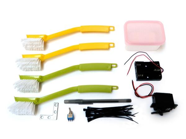 Материалы для изготовления робота