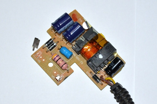 Плата зарядного устройства