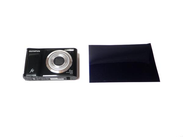 Фотоаппарат и светофильтр