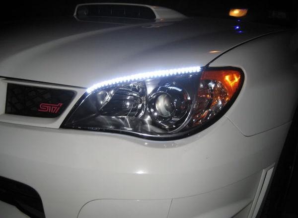Включенные светодиоды