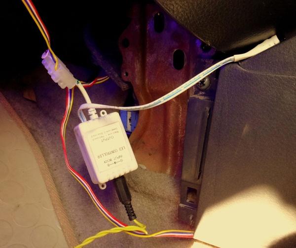 Контроллер с проводами
