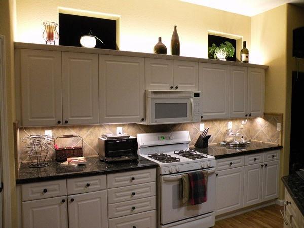 Светодиодная подсветка для кухни своими руками
