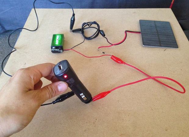 Как сделать зарядку на телефон из солнечной батареи